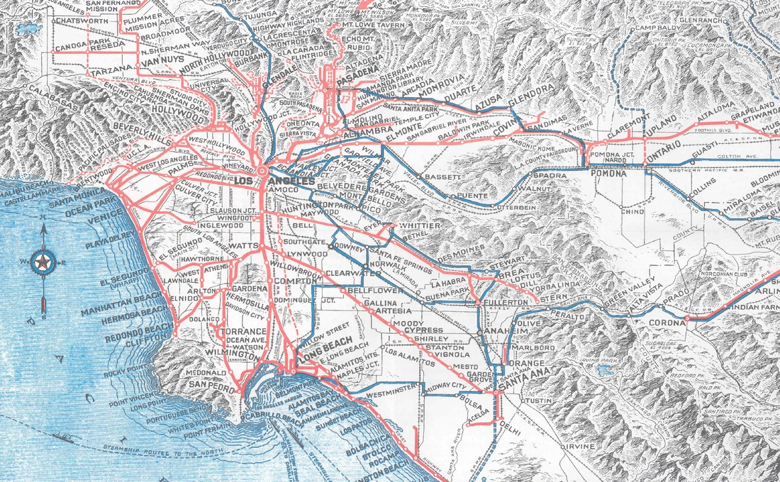 History Of Transportation  The City Of Los Angeles